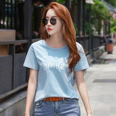 Tシャツ 半袖 レディース 定番 大きいサイズ 夏 クルーネック ストレッチ素材 ホワイト ブラック tシャツ カットソー トップス シンプル ベーシ