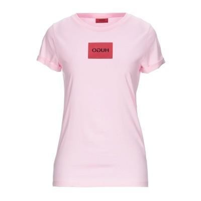 HUGO HUGO BOSS T シャツ ピンク XS コットン 90% / ポリウレタン 10% T シャツ