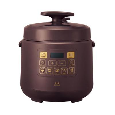 生活に馴染むデザインのマルチ電気圧力鍋(ブルーノ クラッシィ/BRUNO crassy+)