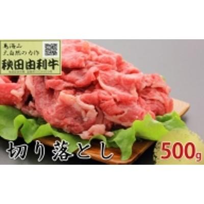 秋田由利牛 切り落とし 500g