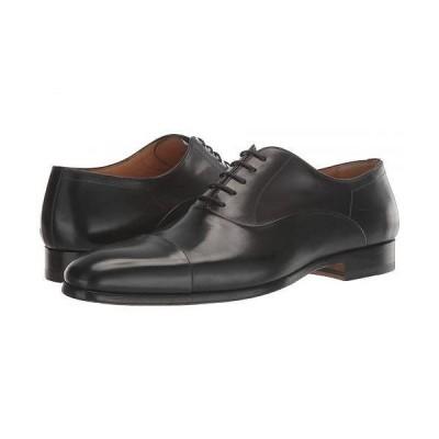 Magnanni マグナーニ メンズ 男性用 シューズ 靴 オックスフォード 紳士靴 通勤靴 Segovia - Black