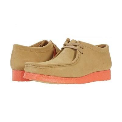 Clarks クラークス メンズ 男性用 シューズ 靴 オックスフォード 紳士靴 通勤靴 Wallabee - Light Tan Orange