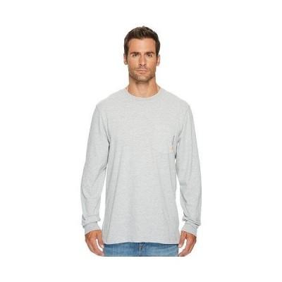 Timberland PRO ティンバーランド メンズ 男性用 ファッション アクティブシャツ Base Plate Blended Long Sleeve T-Shirt - Light Grey Heather