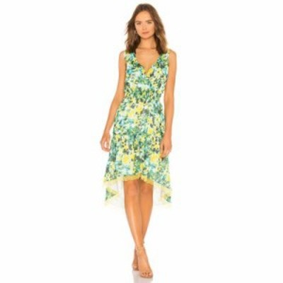 ハウスオブハーロウ1960 ワンピース x REVOLVE Rita Dress Kelly Green Floral