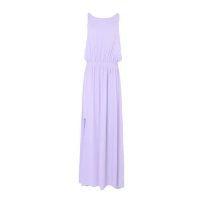 RUE•8ISQUIT ロングワンピース&ドレス ライラック 38 ポリエステル 100% ロングワンピース&ドレス