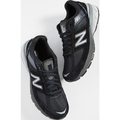 (取寄)ニューバランス メンズ メイド イン アス 990v5 スニーカー New Balance Men's Made In US 990v5 Sneakers Black