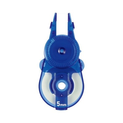 メール便発送 プラス 修正テープ ホワイパースライド ポップカラー 交換テープ 5mm ブルー BL WH-115R