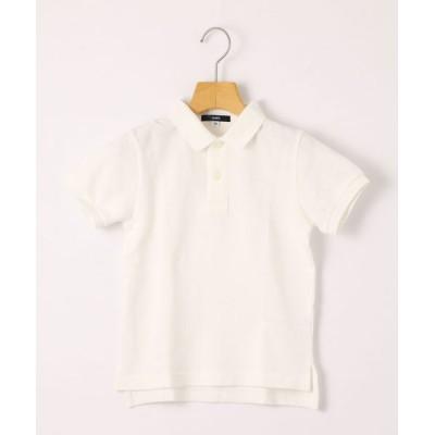SHIPS KIDS / SHIPS KIDS:半袖 鹿の子 ポロシャツ(100~130cm) KIDS トップス > ポロシャツ