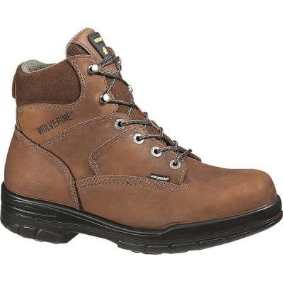 ウルヴァリン Wolverine メンズ ブーツ シューズ・靴 Durashocks 6IN Boot Brown