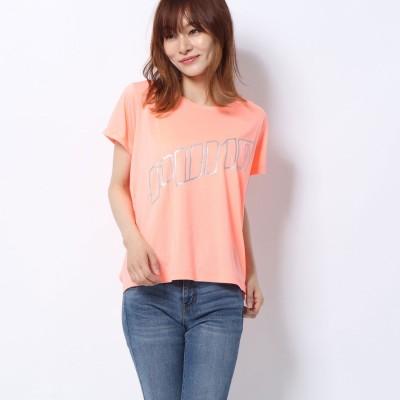ラナン Ranan <PUMA>スローガンTシャツ (ピンク)