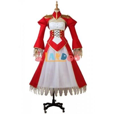 FGO FateEXTRA Last Encore 赤セイバー ネロ・クラウディウス FateGrand Order Saber コスプレ衣装 通販 激安 コスチューム 仮装 cosplay