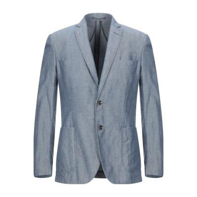 バーブァー BARBOUR テーラードジャケット ダークブルー 48 コットン 80% / リネン 20% テーラードジャケット