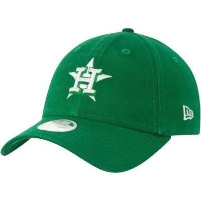 レディース スポーツリーグ メジャーリーグ Houston Astros New Era Women's St. Patrick's Core Classic 9TWENTY Adjustable Hat - Green