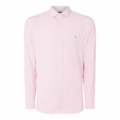 ラルフ ローレン Polo Ralph Lauren メンズ ポロシャツ トップス Polo OxfordSpreadShrtSn93 Pink Gingham