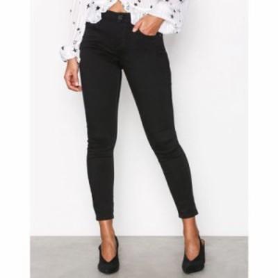 リバーアイランド ジーンズ・デニム amelie super skinny jeans Black