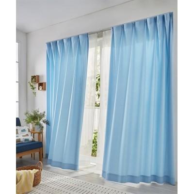 防炎カーテン&防炎レースセット カーテン&レースセット, Curtains, sheer curtains, net curtains(ニッセン、nissen)