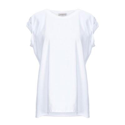NATASHA ZINKO Tシャツ ファッション  レディースファッション  トップス  Tシャツ、カットソー  半袖 ホワイト