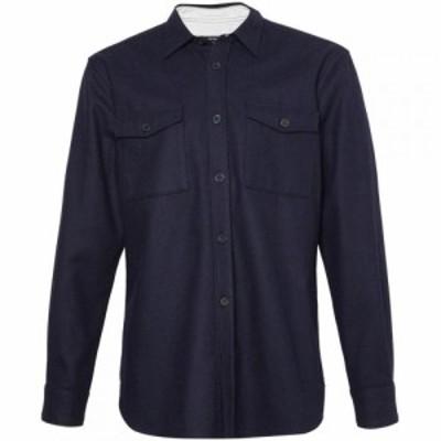 フレンチコネクション French Connection メンズ シャツ トップス Mr Melton Shirt Navy