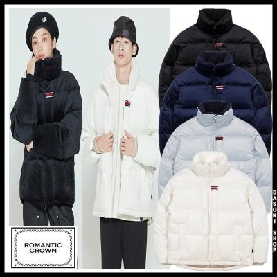 [送料無料] VELVET DUCK DOWN PARKA 兼用 ダウンジャケット 4色  /韓国ファッション/韓国服/BTS着用/ロマンティッククラウン