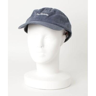 帽子 キャップ 【BEN DAVIS/ベンデイビス】ロゴ刺繍ローキャップ BDW−9433A ユニセックス ブランドロゴ刺繍