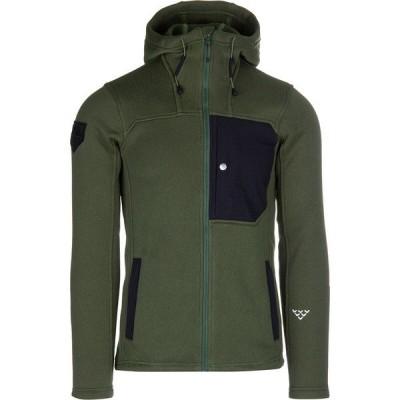 ブラック クロウズ ジャケット&ブルゾン メンズ アウター Corpus Polartec Fleece Hooded Jacket - Men's Bronze Green