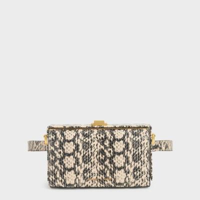 プッシュロック ベルトバッグ / Push Lock Belt Bag (Cream)
