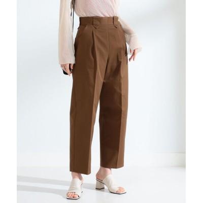 BEAMS WOMEN / UNIVERSAL OVERALL × Ray BEAMS / 別注 サイドジップ テーパード パンツ WOMEN パンツ > チノパンツ