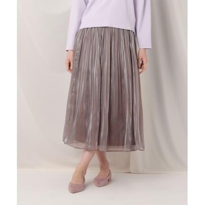 Couture brooch / 【再入荷・新色追加】オーガンプリーツスカート WOMEN スカート > スカート