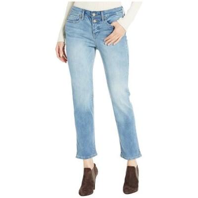 エヌワイディージェイ レディース デニムパンツ ボトムス Sheri Ankle Jeans with Mock Fly in Biscayne