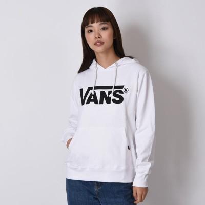 【VANS】 ヴァンズ VANS LOGO BASIC HOODY パーカー VANS-HD02ABC WHITE L ホワイト
