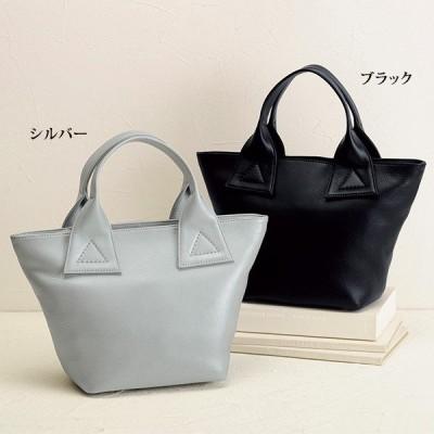 手提げ バッグ レディース / ソフト牛革手提げバッグ / 40代 50代 60代 70代 ミセスファッション シニアファッション 婦人 かばん 鞄