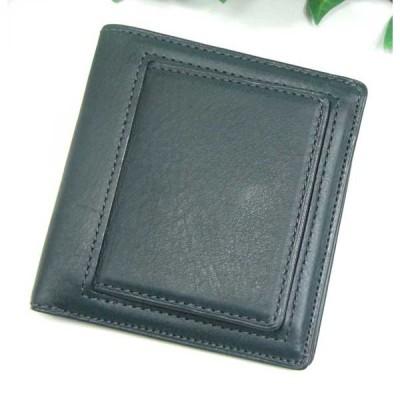 THINLY スィンリー Bシリーズ ボックス型外小銭入れ付札入れ ダークグリーン色 スムース革タイプ SL-B-S03GREEN