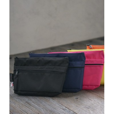 THE FRIDAY / 【MELO】メロ/DOUBLE ZIP POUCH(Mサイズ) MADE IN USA(New York) MEN 財布/小物 > ポーチ