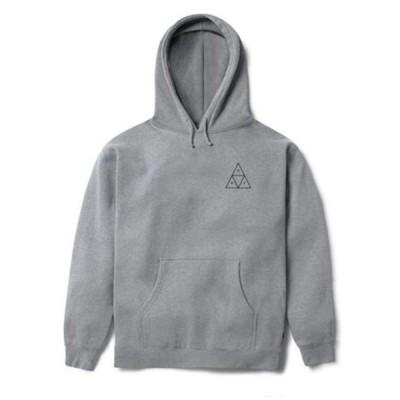 HUF Triple Triangle Pullover Hoodie Grey Heather S パーカー