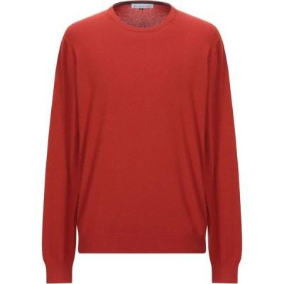 エン アヴァンセ EN AVANCE メンズ ニット・セーター トップス sweater Rust