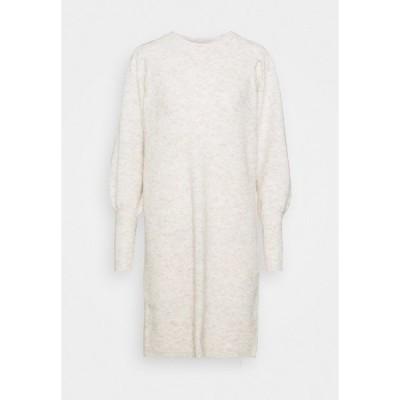 セレクテッドフェム ワンピース レディース トップス SLFLINNA NEW DRESS O NECK - Jumper dress - sandshell