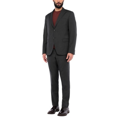 BRERAS Milano スーツ 鉛色 56 バージンウール 100% スーツ