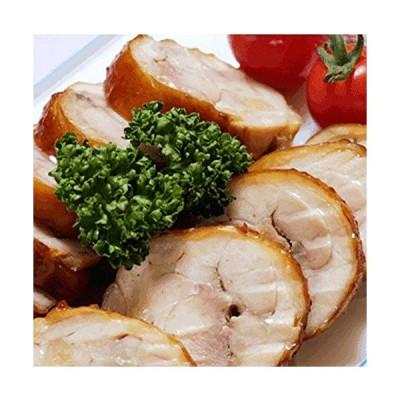 水郷のとりやさん 国産 鶏肉 チキンロール 1本 簡単 チルド惣菜 秘伝の醤油タレ小袋付 調理済み