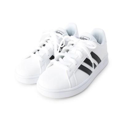 SHOO・LA・RUE / 【adidas】GRANDCOURT K スニーカー KIDS シューズ > スニーカー