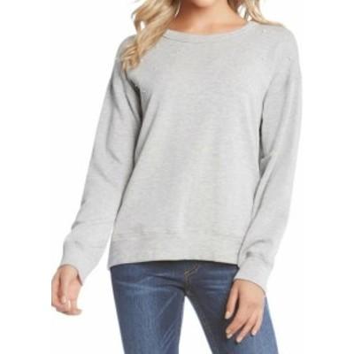 Karen Kane カレンケーン ファッション トップス Karen Kane NEW Gray Womens Small S Pearl Embellished Pullover Sweater