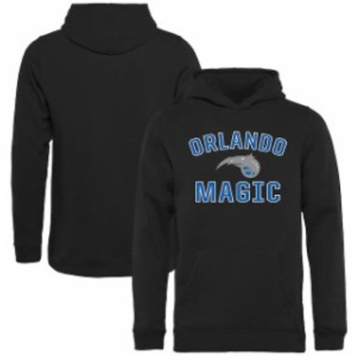 Fanatics Branded ファナティクス ブランド スポーツ用品  Orlando Magic Youth Black Victory Arch Pullover Hoodie