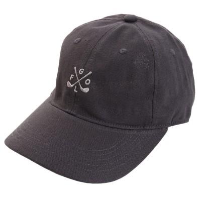 ACPGトレッキングリネン刺繍キャップ GOLF 897PA9ST1742 CHCチャコールグレー