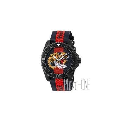 グッチ ダイヴ タイガー メンズ 腕時計 YA136215