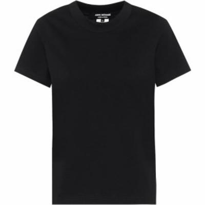 ジュンヤ ワタナベ Junya Watanabe レディース Tシャツ トップス Cotton T-shirt Black