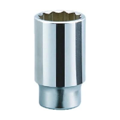 京都機械工具 19.0sq.ディープソケット(十二角) 22mm B4522