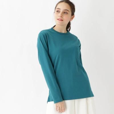 ベース コントロール BASE CONTROL 長袖 Tシャツ クルーネック WEB限定 11250 (グリーン)