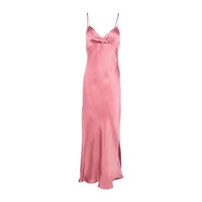 BEC & BRIDGE ロングワンピース&ドレス パステルピンク 6 レーヨン 100% ロングワンピース&ドレス