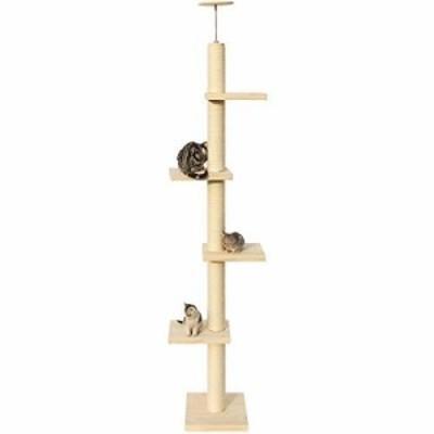 猫の家とコンドミニアム 無垢材Tongtianzhu大型猫登山フレーム猫木大胆サイ(新古未使用品)