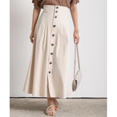 rps / フロントボタンツイルタックロングスカート WOMEN スカート > スカート