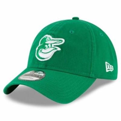 New Era ニュー エラ スポーツ用品  New Era Baltimore Orioles Womens Green 2018 St. Patricks Day Prolight 9TWENTY Adjustable Hat